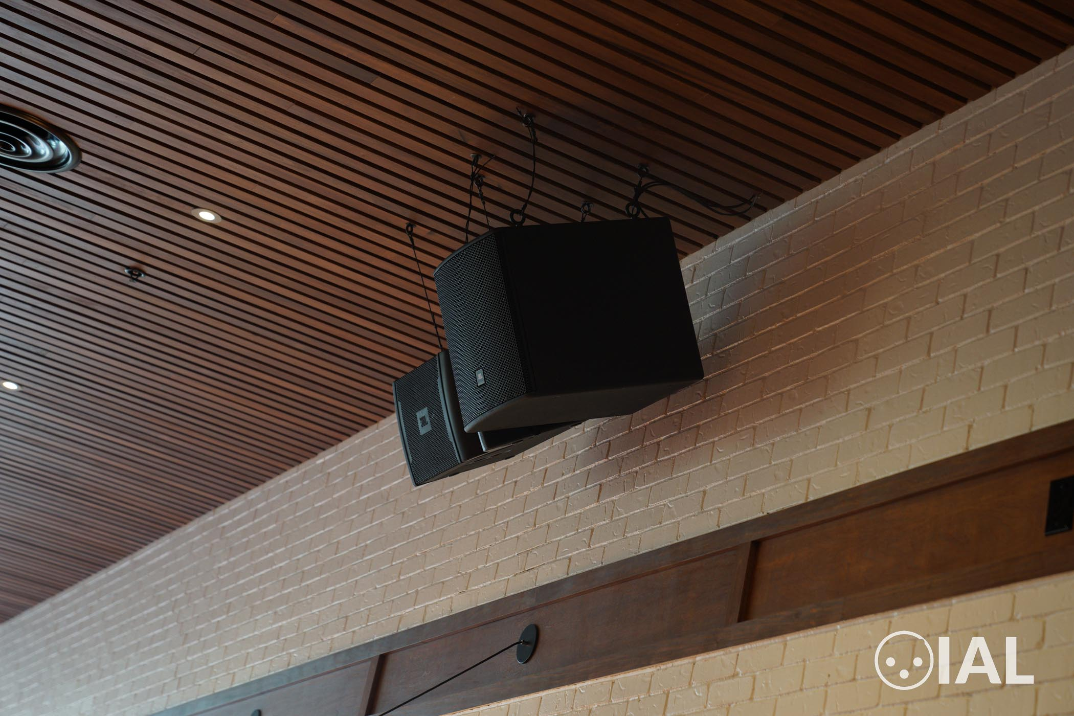 Here's a JBL VRX and ASB install at Downtown Disney.