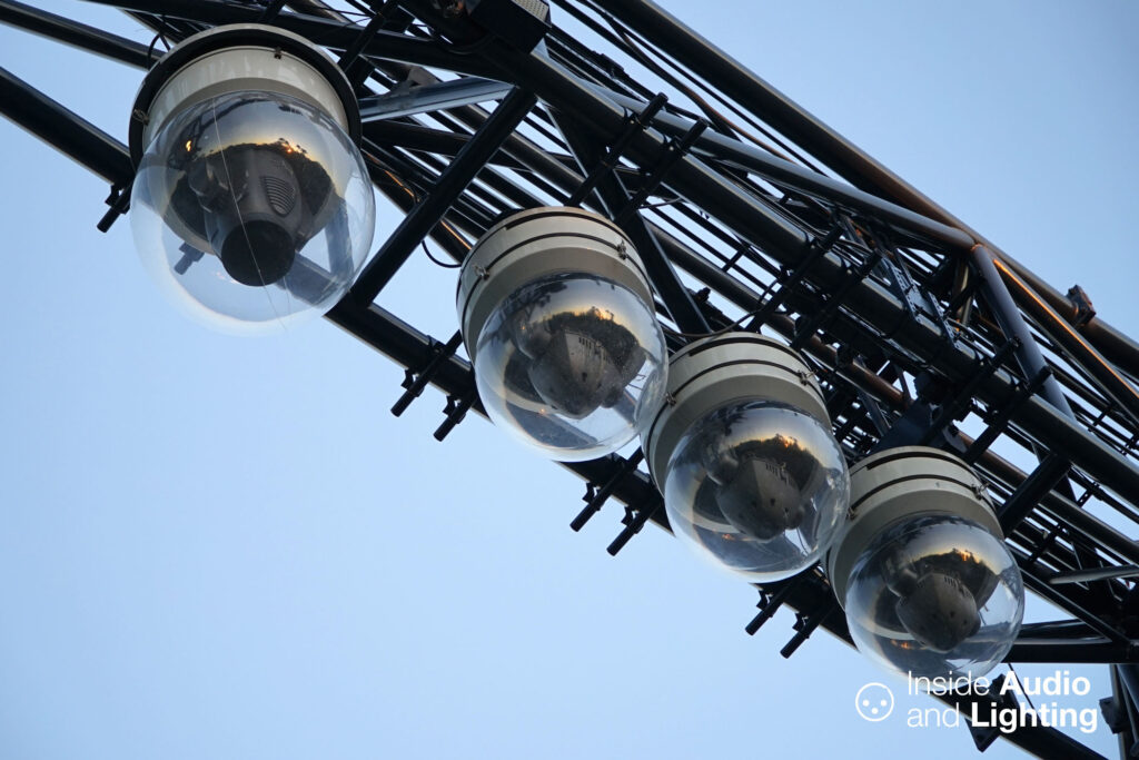 Vari-Lite and High End Systems lighting fixtures