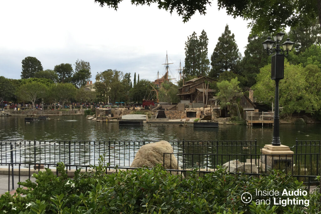 The main stage for Fantasmic!